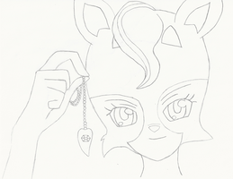 Thinking of you, Victor .:Lineart:. by 6SeaCat9