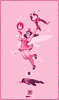 Tooth Fairy Pixel Dailies X4 by TRUEvector