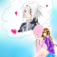 Dreaming of Allen .Colored. by satanslemon