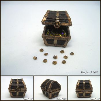 Treasure Chest (detail from Pirate's Set) by Maylar