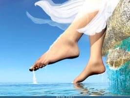 Bare feet by rlcwallpapers