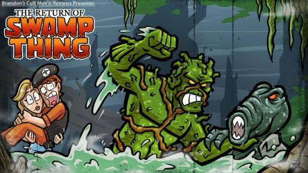 Titlecard: The Return of Swamp Thing by hooksnfangs