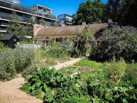 A kitchen garden within the gardens by EUtouring