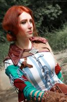 The Witcher 2 cosplay - Triss Merigold_6 by GreatQueenLina