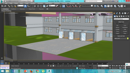Yandere Sim. School Stage (WIP) First Test by i-see-you1