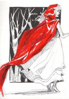red riding hood by Win-E