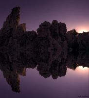 Reflection Mono Lake by IntoTheFire92