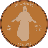 Penny Sticker by designed4jesus