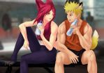 Workout break by EG1993