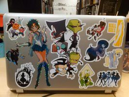 My Lovely Laptop  by Spectra22