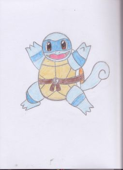 Teenage Chubby Ninja Squirtle! by MissMercyJust