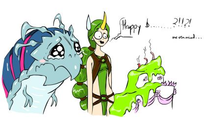 Blow the candles! by Cernunnas