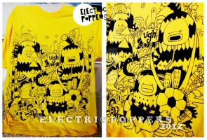3 JELLY BEANS T-SHIRT by ELECTRICPOPPERS
