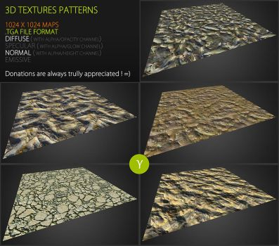 Free textures pack 59 by Yughues