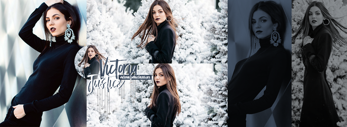Victoria Justice Header Fansite by oursheartsps
