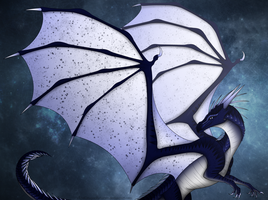 Whiteout [Speedpaint Video] by xTheDragonRebornx