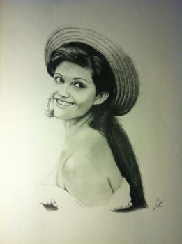 Claudia Cardinale by firefly312