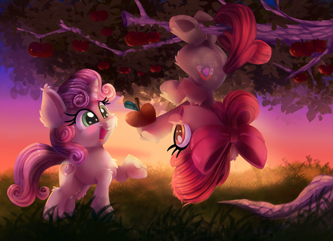 Sweet Apple Acres by thediscorded