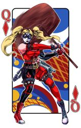 Harley Quinn Playing Card Redux by timberking