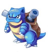Day #1 Blastoise by Bestary