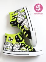 Ninja Chucks by Bobsmade