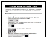 Change all instances of a colour - Photoshop by stuarts-pixel-games