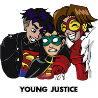 Young Justice - The Boys - C by UltimeciaFFB