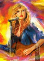 Live the music - Taylor Swift 8 by artistamroashry