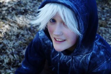 Jack Frost Chillin' by Checker-Bee