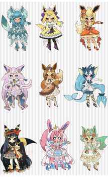 6 HOURS: O: EEVEELUTION AUCTION by minnoux