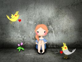 My birds and me by Inilein