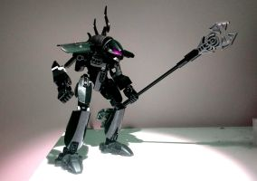 VORAHK, Son of Makuta. Rahkshi movie moc by Ids5621