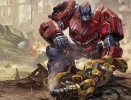Transformers fall of cybertron by itscharliescene