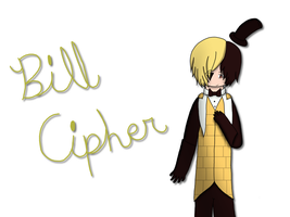 Bill Cipher by CrafterWho