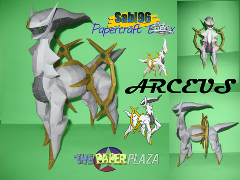 Arceus Finished :D by Sabi996