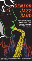 Spring Jazz Concert Poster by likwtf123
