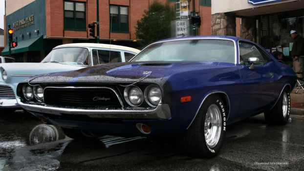 Challenger in Blue by rimete