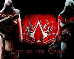 Assassins Creed Brotherhood BG by xNaschi