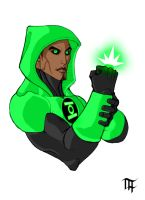 Green Lantern - Emerald Enforcer by Remortal