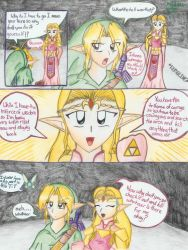 Another Zelda comic by lil-melmeow