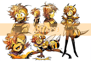 [CLOSED] Adopts - Funk Honeybee (insect #1) by Titi-S2