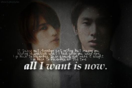 Edit: All I Want is Now by imakumi242