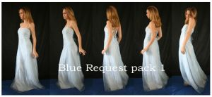 Blue request pack 1 by faestock