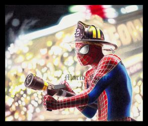 The Amazing Spider-Man by mario-freire