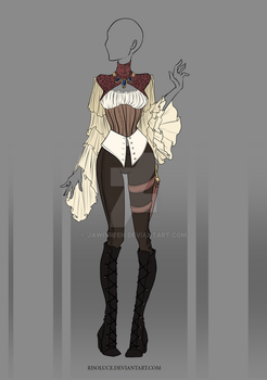 (CLOSED) Adoptable Outfit Auction 28 by JawitReen