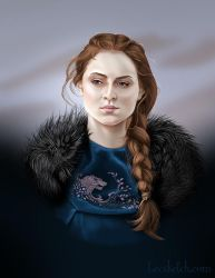 Sansa Stark - Game of Thrones by becsketch