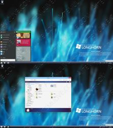 Windows Technical Preview Longhorn Build 5112 by AtheneRa