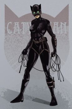 Catwoman by darknight7