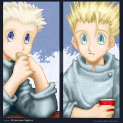 Trigun: Young Plants by EdenEvergreen