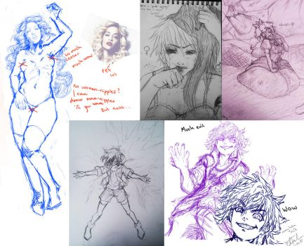 Scetch Compilation by Lo-chan07